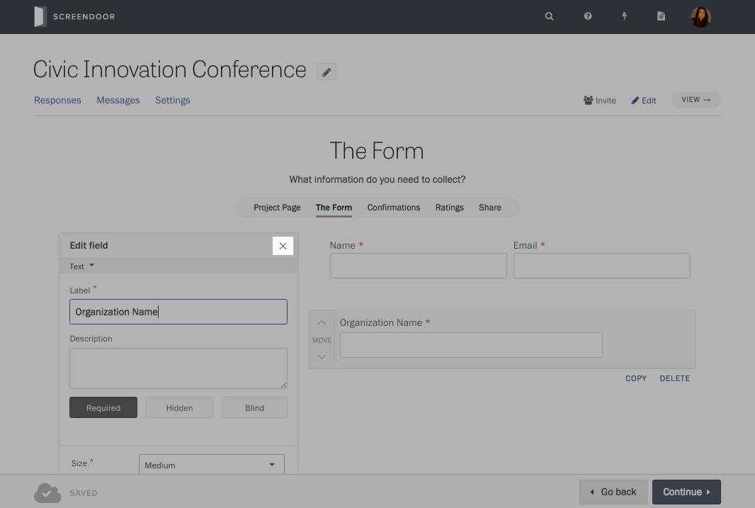Building your form | DOBT Knowledge Base