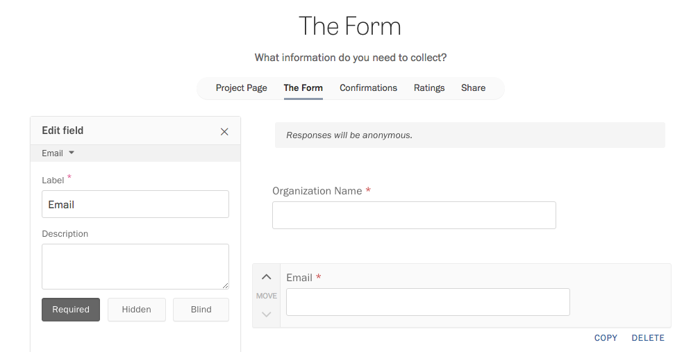 Adding custom name and email fields.